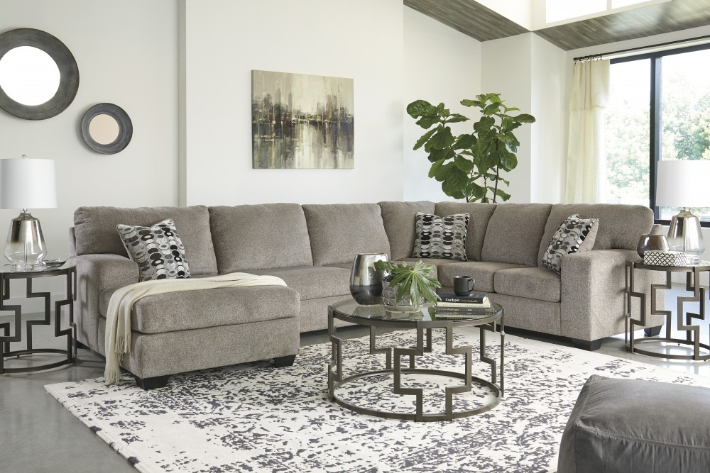 Ballinasloe 3 Piece Chaise Sectional
