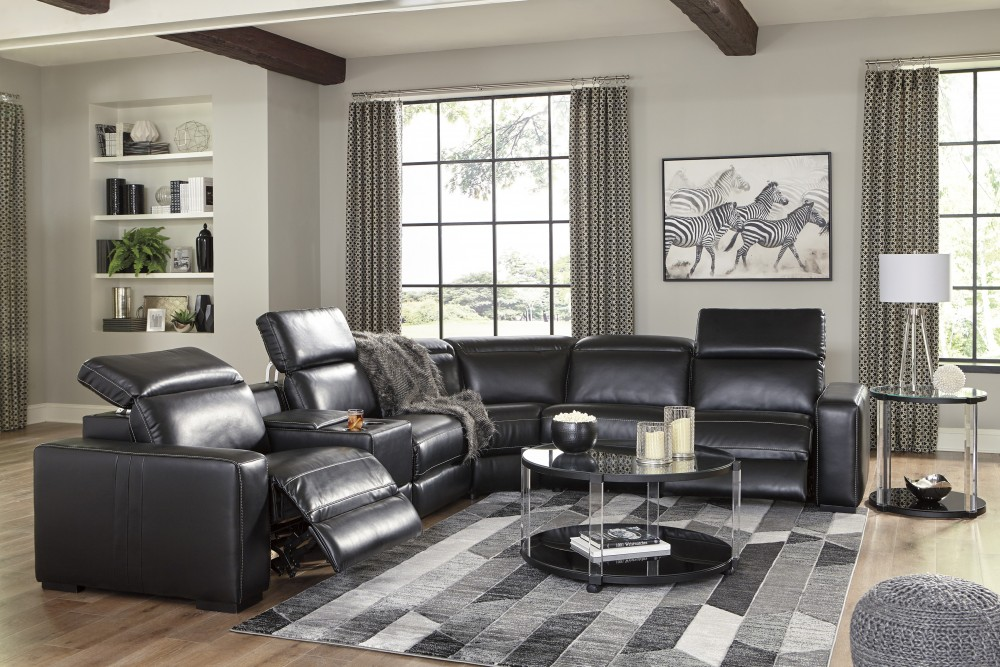 Mantonya 3 Power Recliner & 3 Power Headrest Sectional