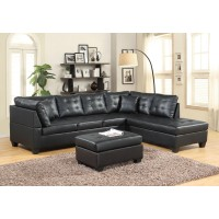 Jakie Sectional Black