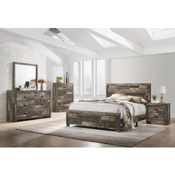 TALLULAH Dresser Mirror Queen Bed