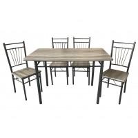 Dana Table & 4 Chairs