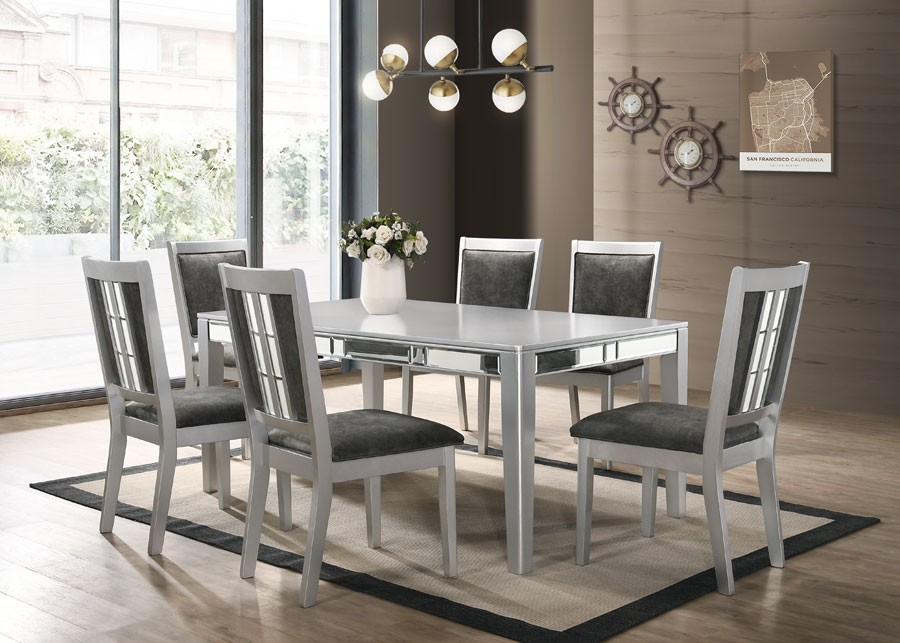 Layla Dining Table + 4 Chairs