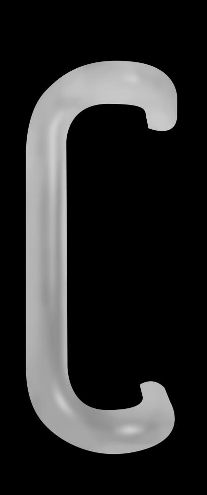 Kawneer 9in Handle Cover - Aluminum