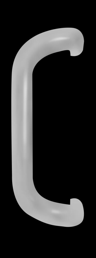 YKK 9in Handle Cover - Aluminum
