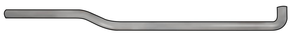YKK 32in Cover- Right - Aluminum