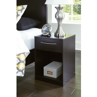 Flannia - One Drawer Night Stand