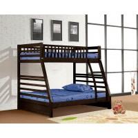 Miri Twin/Full Espresso Bunk Bed
