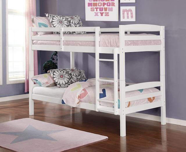 Chana Twin/Twin Bunk Bed White