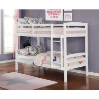 Chana Twin/Twin Bunk Bed White