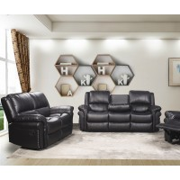 Arthur Black Reclining Living Room Set