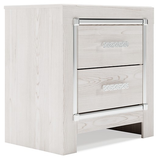 Altyra - Two Drawer Night Stand