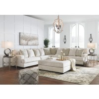 Rawcliffe - 3-Piece Sectional and Ottoman