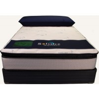 Twin Nouveau Pillow Top Mattress Set