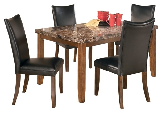 Charrell - Dining Table and 4 Chairs