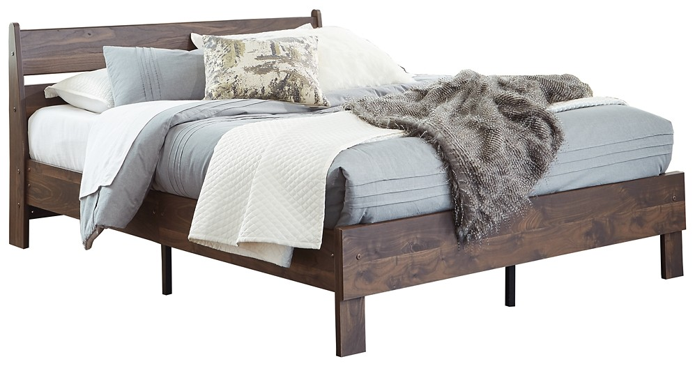 Calverson - Full Panel Platform Bed
