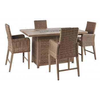 Beachcroft - Outdoor Dining Table and 4 Chairs