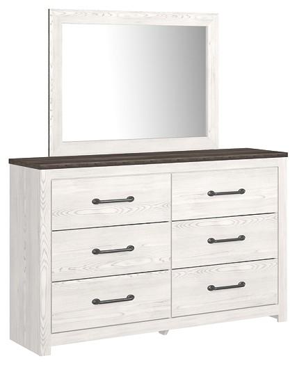 Gerridan - Dresser and Mirror