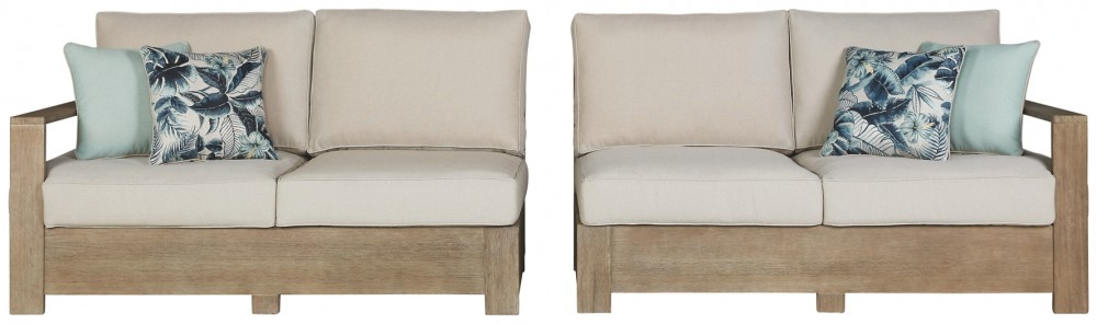 Silo Point - RAF/LAF Loveseat w/CUSH (2/CN)