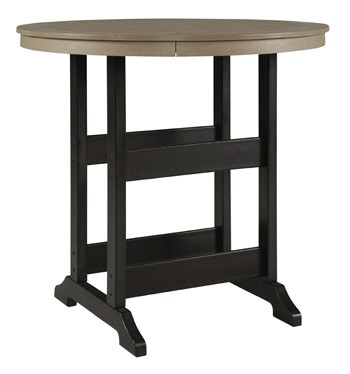 Fairen Trail - Round Bar Table w/UMB OPT