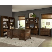 HARTSHILL COLLECTION - Bookcase W/ Cabinet
