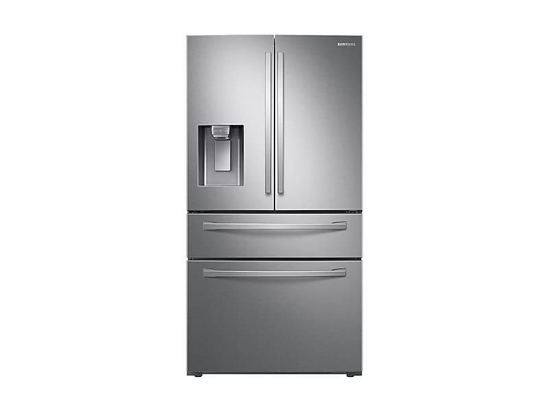 28 cu. ft. 4-Door French Door Refrigerator with FlexZone(TM) Drawer in Stainless Steel