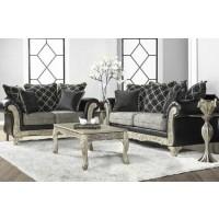 San Marino Ebony Sofa and Loveseat