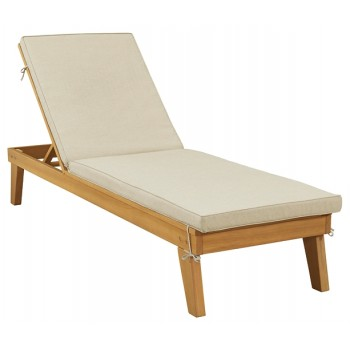 Byron Bay - Chaise Lounge with Cushion
