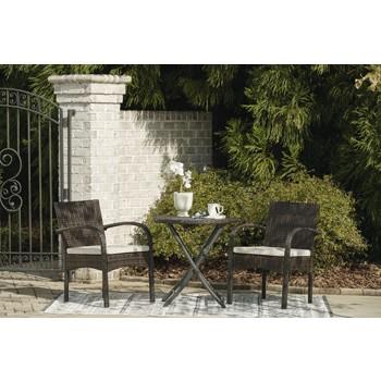 Anchor Lane - Chairs w/CUSH/Table Set (3/CN)
