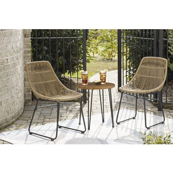 Coral Sand - Chairs w/Table Set (3/CN)