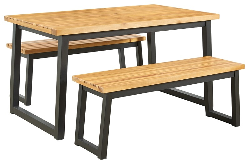 Town Wood - Dining Table Set (3/CN)