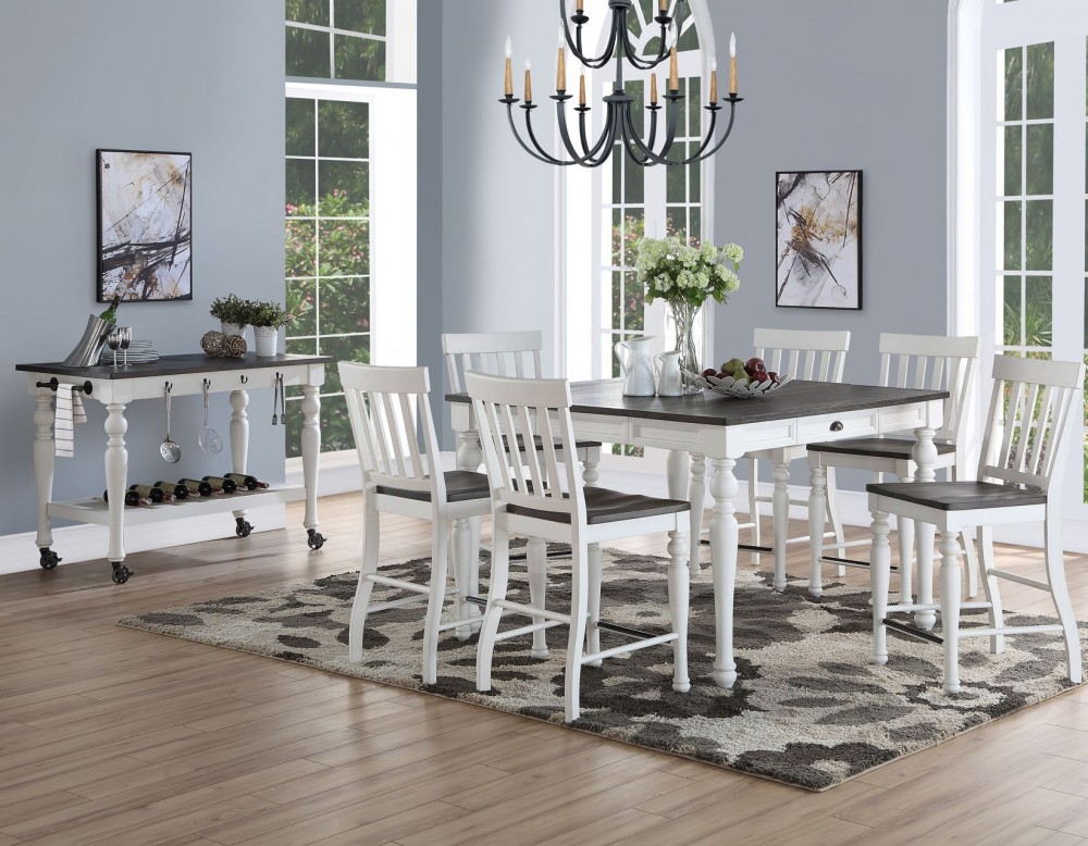 Joanna Square Counter Table Set