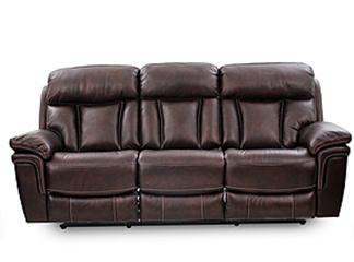 9597 Brown Reclining Sofa