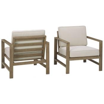 Fynnegan - Lounge Chair w/Cushion (2/CN)