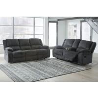 Draycoll Reclining sofa & love