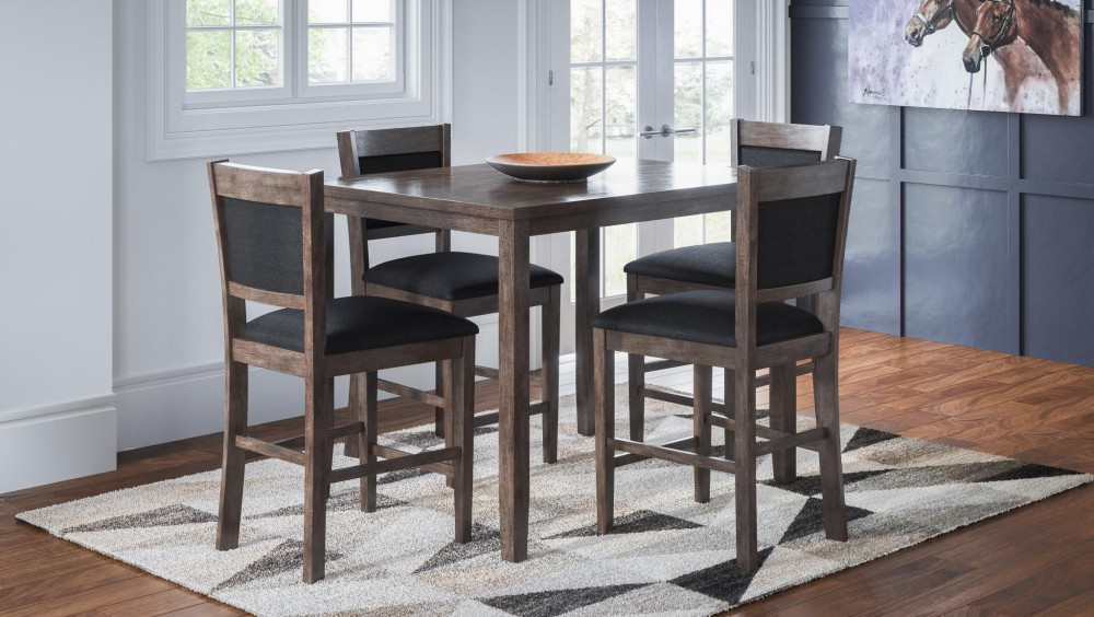 Greyson Heights Bar 5 piece Dining Set