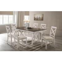 SOMERSET DINING-VINTAGE WHITE Dining Set