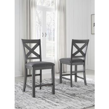 Myshanna - Upholstered Barstool (2/CN)