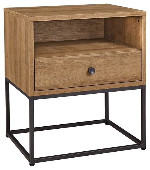 Thadamere - One Drawer Night Stand