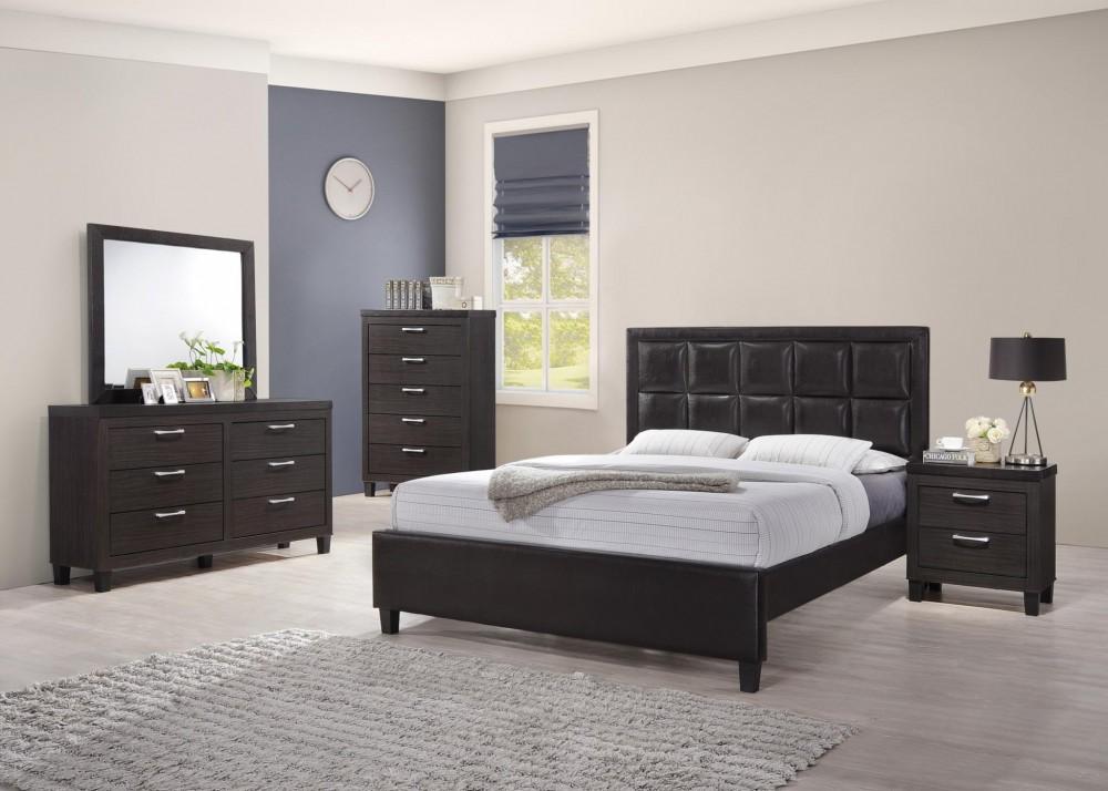 Nesha Dresser Mirror Queen Bed