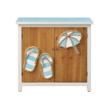 Pieces in Paradise Coastal Two Door Cabinet