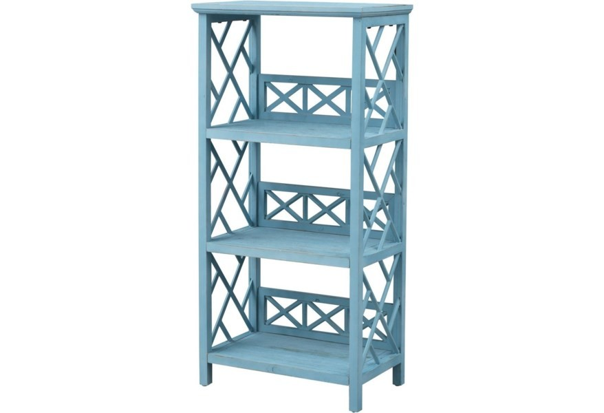 Pieces in Paradise Coastal Style Bookcase