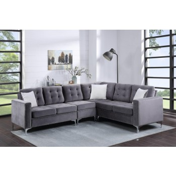 Patrick Grey Sectional