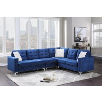 Patrick Blue Sectional