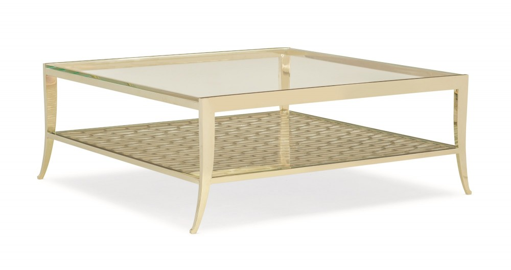 Pattern Recognition Cocktail Table