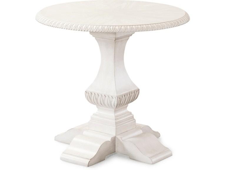 Trisha Yearwood Jasper County - White End Table