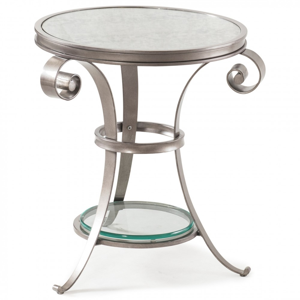 Trisha Yearwood Jasper County - Glass Chairside End Table