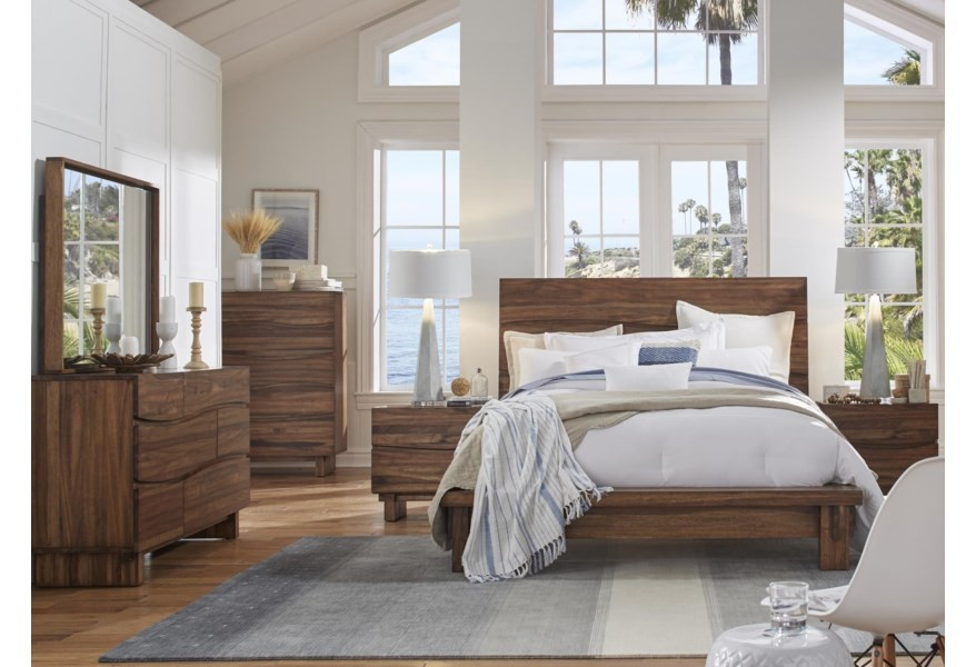 Ocean - California King 4 Piece Bedroom Set