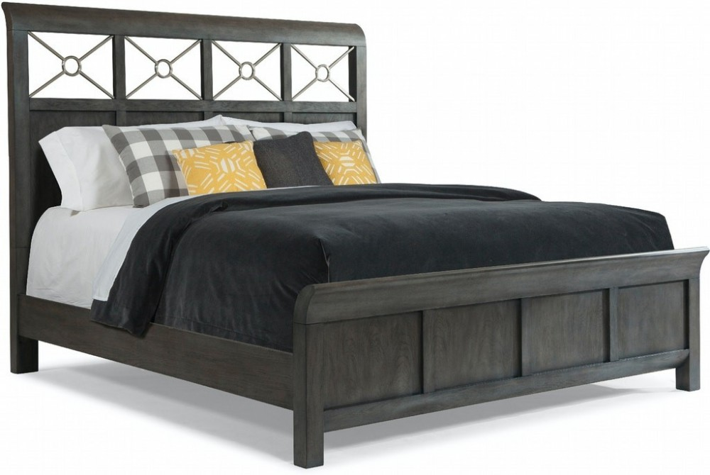 Music City - Soft Grey Queen Bed