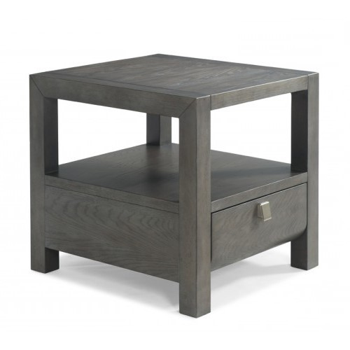 Music City - Soft Grey End Table