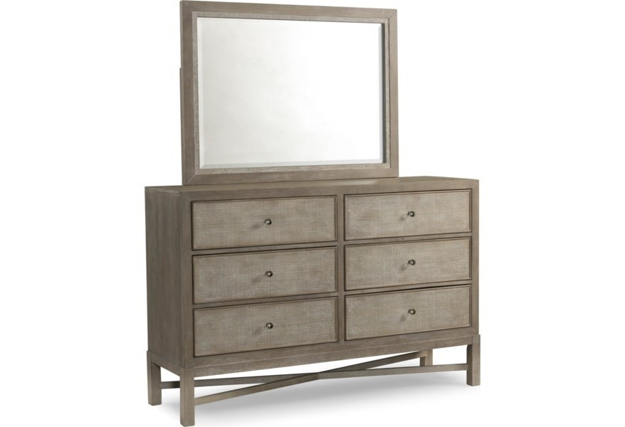 Water's Edge - Dresser and Mirror